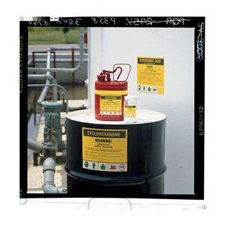 Label, Diesel Fuel Oil, 7x10 In, PK25