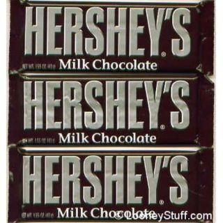 HERSHEY MILK CHOCOLATE Bar   24 1.55oz (43g) Bars