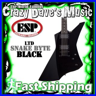 ESP LTD SnakeByte Black James Hetfield Metallica Snake Byte Bite BLK