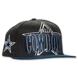 New Era Dallas Cowboys NFL Logo Through Snapback Mens Cap