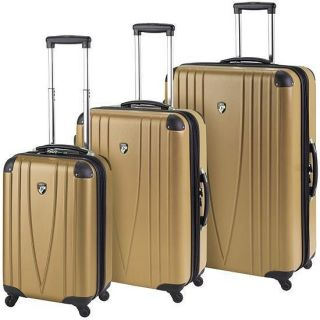Heys USA 4WD 30 Expandable Spinner Luggage Case BRONZE GOLD