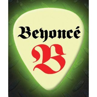 Beyonce 5 X Glow In The Dark Premium Guitar Picks: Musical