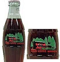 Deer Lodge Collector Coca Cola Bottle Hiawassee GA