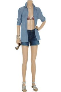 Mara Hoffman Printed string bikini   85% Off