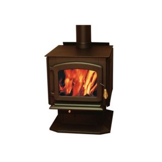 Drolet Baltic Wood Stove on Pedestal DB03040