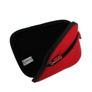 rooCASE (Flamming Red) Neoprene Sleeve Case for Seagate