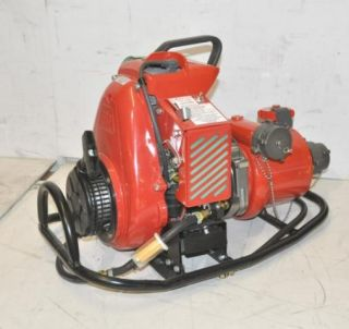 Textiles Wick 375 Portable Four Stage High Pressure Fire Pump