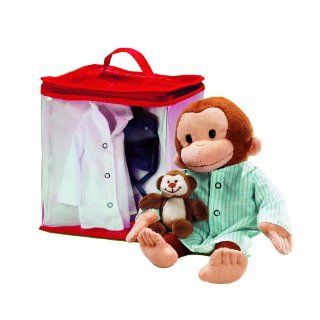 Russ Applause10 Curious George Dress up Travel Tote with