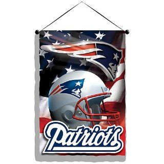 New England Patriots NFL Photo Real Wall Hanging (28 x41