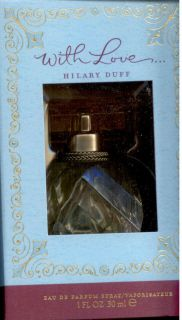 Hilary Duff with Love 1 oz Spray Eaude Parfum NIB