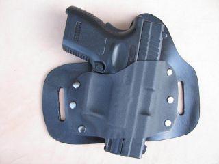 Leather kydex hybrid beltslide holster for Sig Sauer SP2022 9mm 40