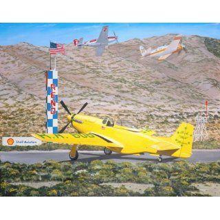 Sam Lyons   P 51 Mustang Bob Hoover Aviation Art