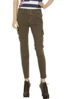 Current/Elliott The Slouch high rise denim cargo jeans   88% Off