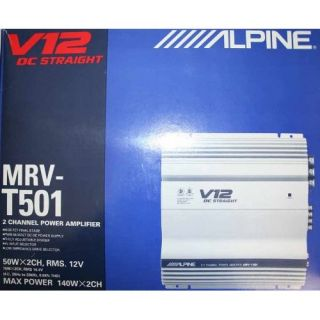 Alpine MRV T501 2 Channel Power Amplifier