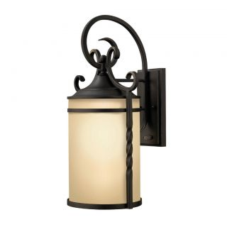 Hinkley 1 Light Casa Outdoor Wall Lantern 1145OL Black