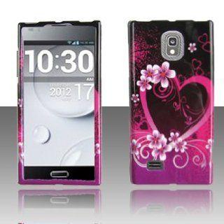 LG Spectrum 2 II VS930 VS 930 Black with Hot Pink Love
