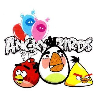 Angry Birds Heat Iron On Transfer for T Shirt ~ Red Bird