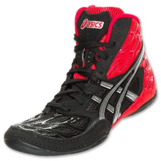 Asics Split Second 9 Mens Wrestling Shoes Red