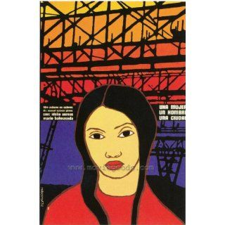 Una Mujer, un Hombre, una Ciudad Movie Poster (27 x 40