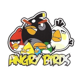 Angry Birds Gang Heat Iron On Transfer for T Shirt