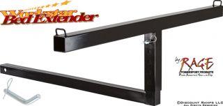 Pickup Truck Bed Hitch Extender Extension Rack Lumber Ladder Canoe