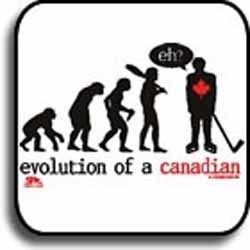 Hockey Shirts Evolution of A Canadian Hockey Player T Shirt Tank Top