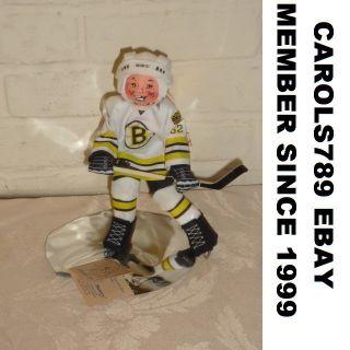 Boston Bruins Annalee Hockey Doll C Thorndike s Leach
