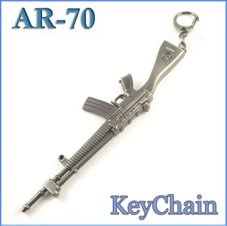 Miniaure Gun Model Keychain Ring Hobbies Collecion Bouique