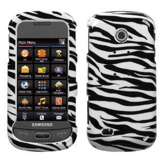 Samsung Eternity II A597 Zebra Skin Hard Case Snap on