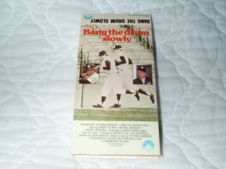 Bang The Drum Slowly VHS Robert de Niro Hodgkin Disease