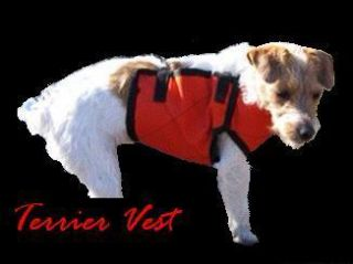 HOG DOG VEST TERRIER KEVLAR Hog Hunting Bay Dogs KEVLAR Boars TUFF
