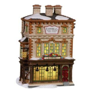 Department 56 Dickens Village H Smythe, Publisher Home