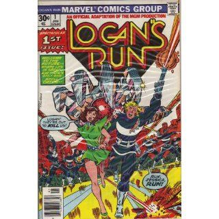 Logans Run #1 First Issue Comic Book