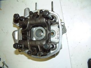 82 Honda CX500 GL500 Right Cylinder Head w Rocker Arms