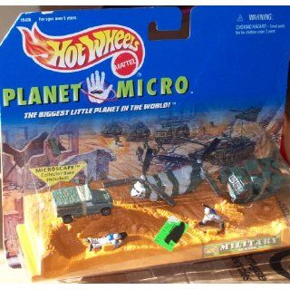 Hot Wheels PLANET MICRO   MILITARY Series 2 Toys & Games