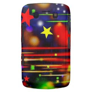 Colorful Racing Stars Blackberry Bold Case