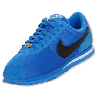 Nike Mens Cortez Nylon Casual Shoe Blue Spark