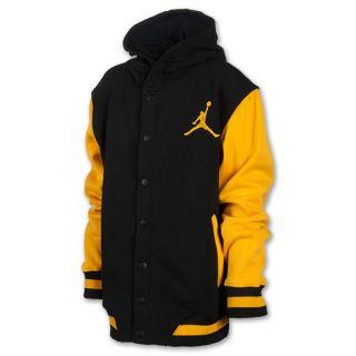 Kids Jordan Varsity Jacket Black/Gold