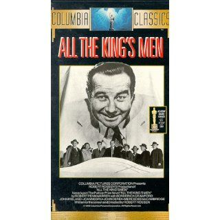 All the Kings Men [VHS] Broderick Crawford, John Ireland