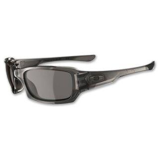 Oakley Fives Squared Sunglasses Grey Smoke/Warm