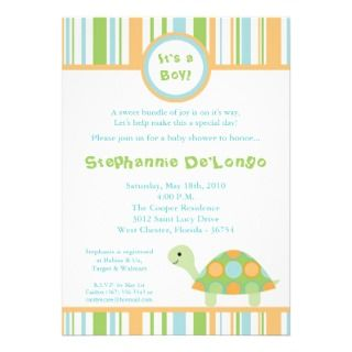 Sea Turtle Baby Shower Invitations, 110 Sea Turtle Baby Shower