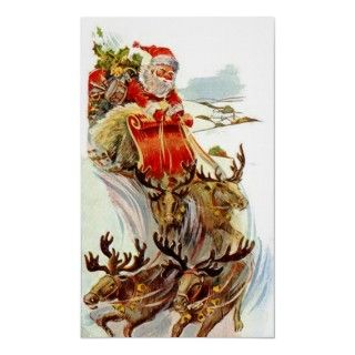 Vintage *Mini Collie* Merry Christmas! Postcard