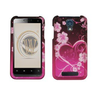 Exotic Love Rubberized Hard Case Cover for Cricket ZTE