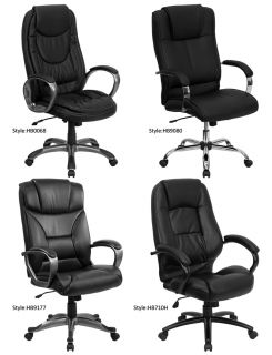Office Home Office Furniture High Back Leather Chairs