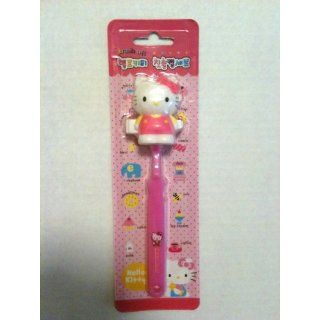 Hello Kitty Children Travel Toothbrush w/ Cover Face