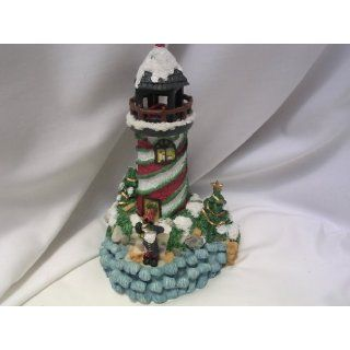 Lighthouse Christmas Music Box 9 Lighted Ocean Beach