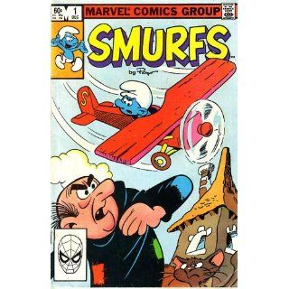 Smurfs, Vol 1 #1 (Comic Book) the Smurf Plane Marvel