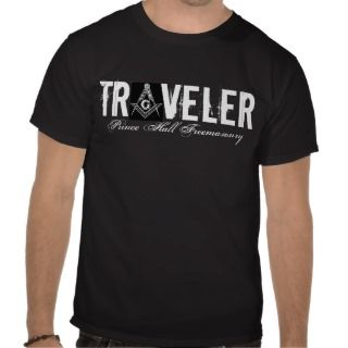 Traveler, Prince Hall Freemasonry Tshirt