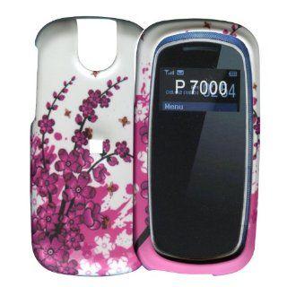 Spring Flowers Pantech Impact P7000 Hard Case Snap on