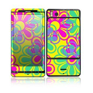 Retro Flowers Design Decorative Skin Cover Decal Sticker